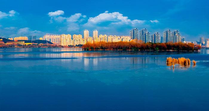 《一城青山半城湖》徐州云龙湖景区