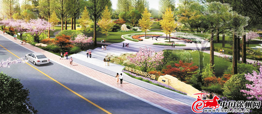 金奎生态 休闲公园开建