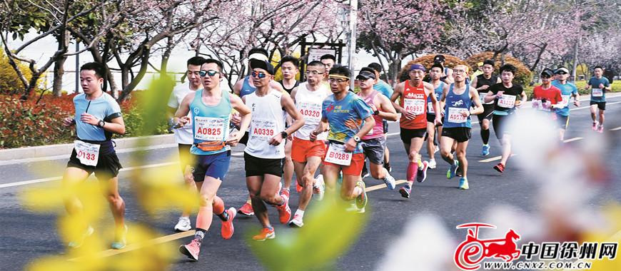 2019徐州国际马拉松赛精彩举行