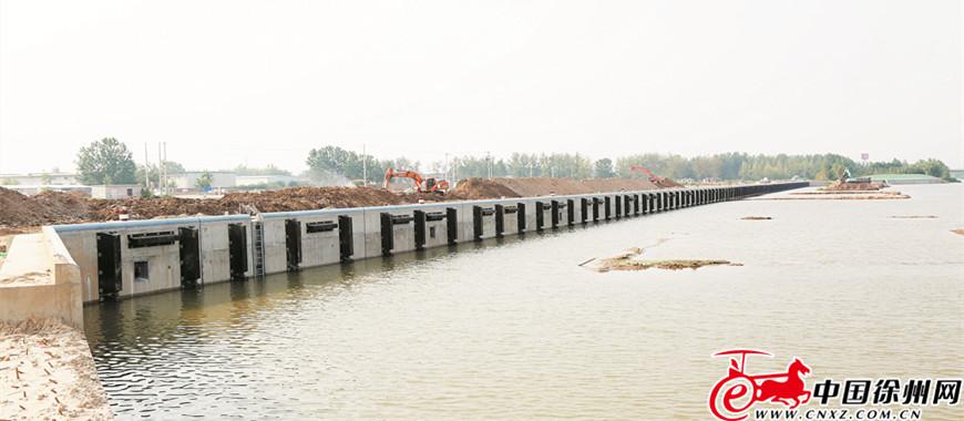 沙集作业区码头项目 加速推进