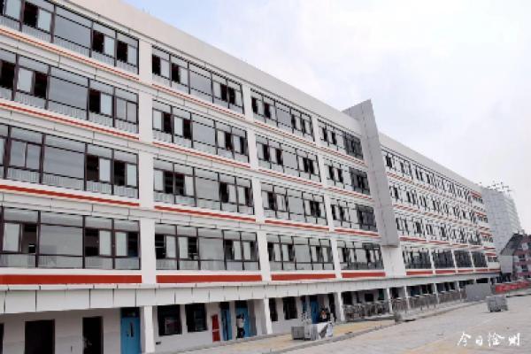 节能、降耗、安全,徐州首座装配式初中教学楼建成投用