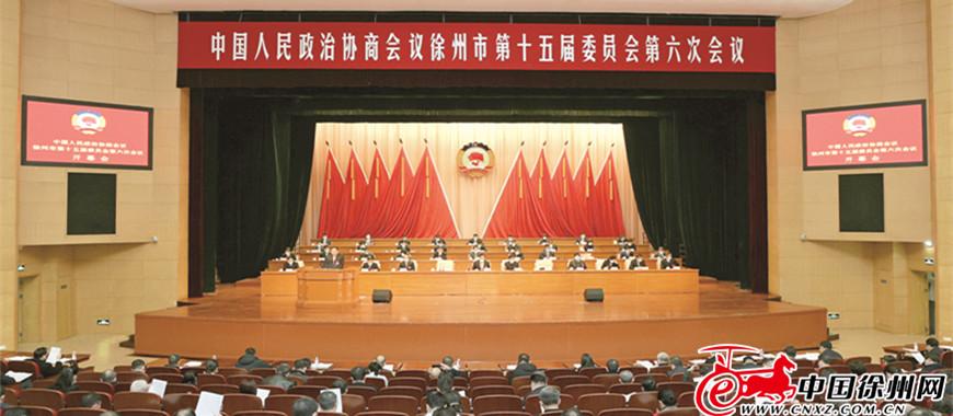 市政协十五届六次会议隆重开幕