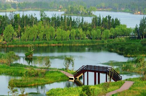 徐州潘安湖风景区地图